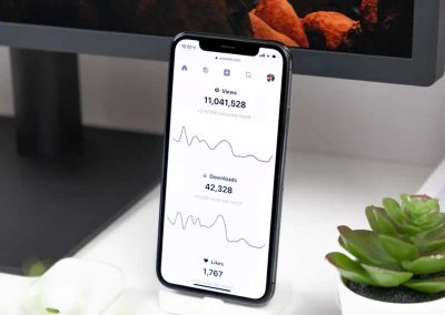 iOS Stock App